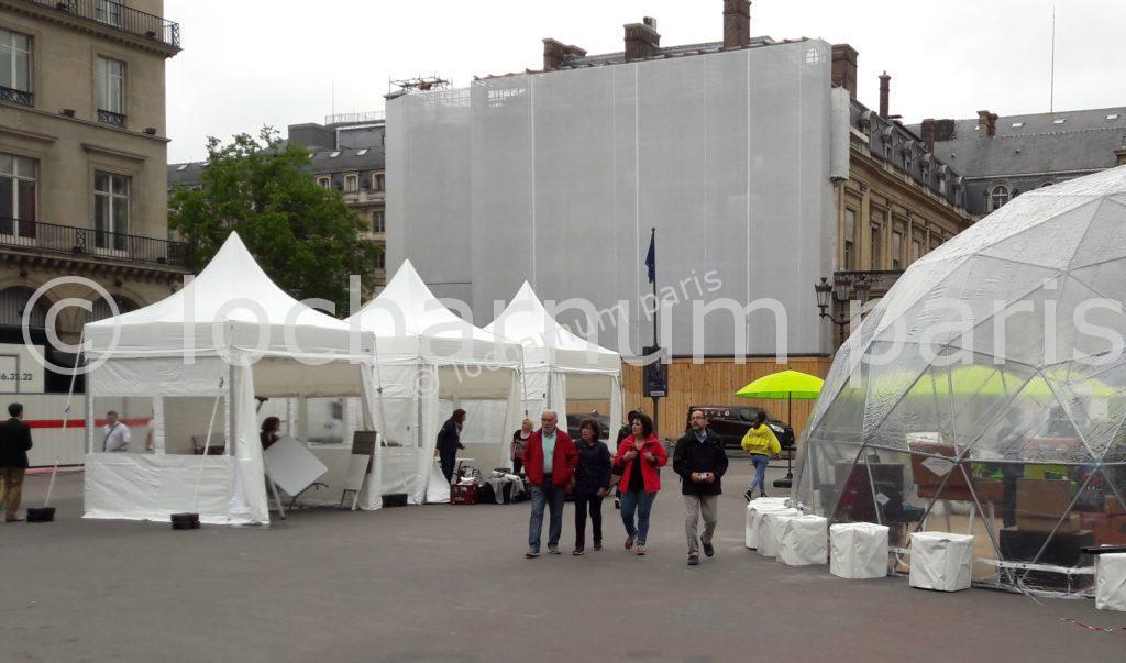 location de tentes pliantes